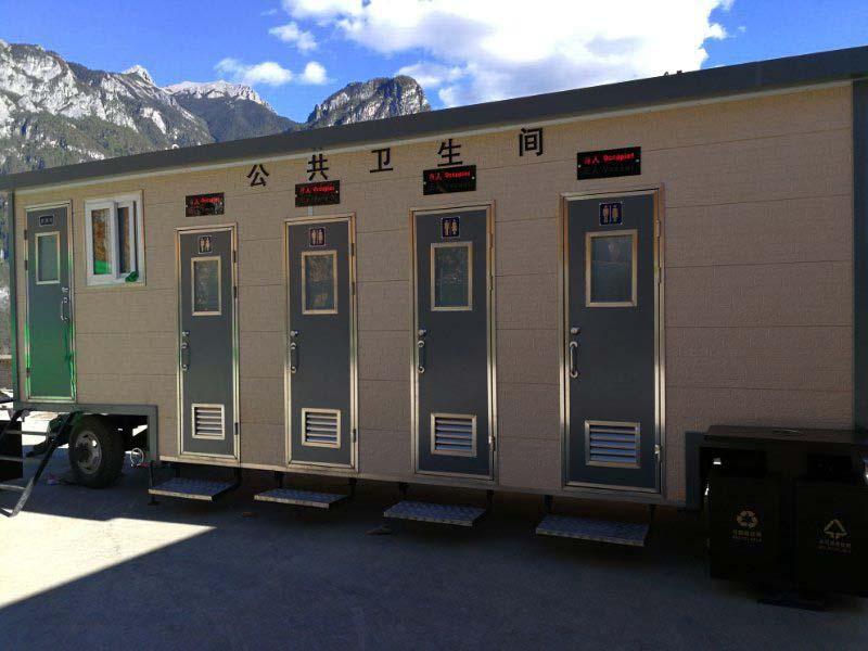 雲南香格里拉車載式環保廁所