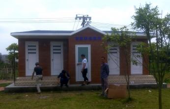 江西新余村鎮環保廁所
