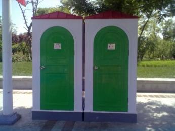 隴南玻璃鋼移動廁所