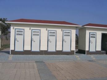 隴南打包移動廁所